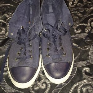 Navy Blue Levi Shoes